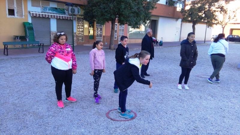 """Totana acogió la Final Regional de Petanca de Deporte Escolar, en el que destacó el primer puesto conseguido por el CEIP """"Santa Eulalia"""", en la categoría alevín"""