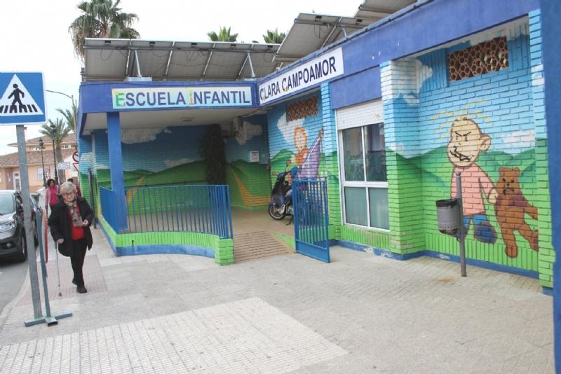 """Se aprueba el procedimiento para la admisión de alumnos en la Escuela Infantil """"Clara Campoamor"""" para el curso escolar 2020/21"""