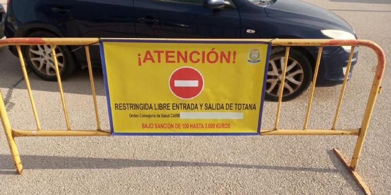 La Policia Local de Totana realiza la apertura de 30 expedientes sancionadores por incumplimiento de las medidas sanitarias contra el Covid -19 (decreto-ley 8/2020, de 16 de julio)