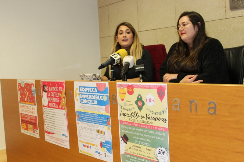 """Vídeo. """"Imperdible Social"""" y la Concejalía de Juventud presentan el proyecto de conciliación """"Eduteca Imperdible Concilia"""", que comprende servicios de Eduteca y Escuelas Vacacionales"""