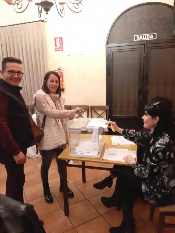 María José Romero es elegida, de nuevo, alcaldesa pedánea de Mortí para esta legislatura al obtener 39 votos frente a los 14 del otro candidato