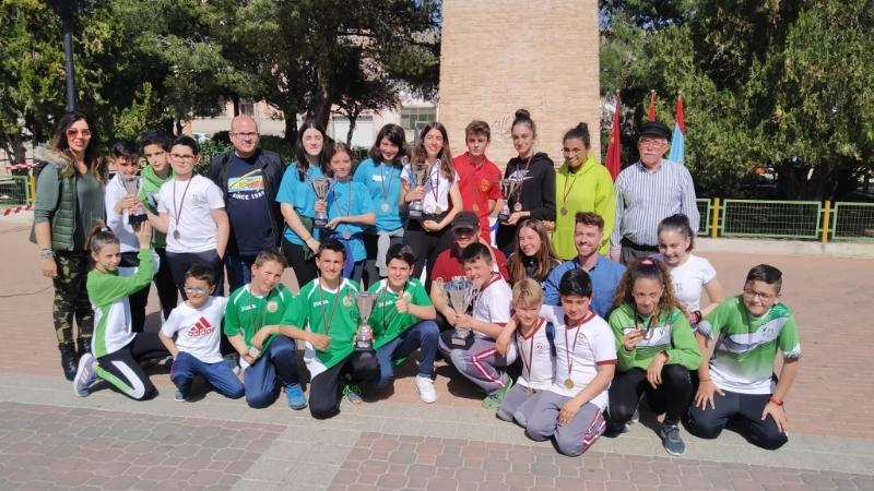 El Colegio Reina Sofía y el IES Prado Mayor se proclamaron campeones regionales de Petanca de Deporte Escolar, en la Final Regional celebrada en Alguazas