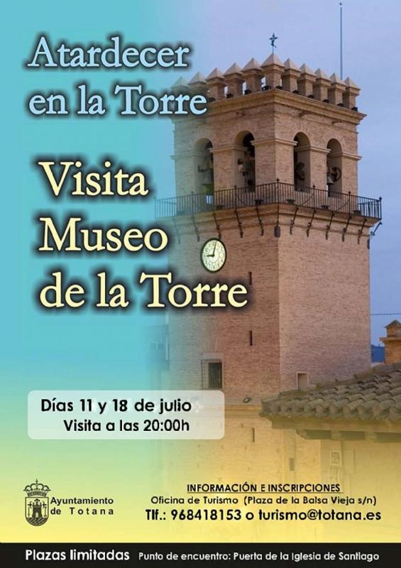La Concejalía de Turismo amplía la oferta de visitas guiadas para este mes de julio, en horario de tarde, con visitas adicionales