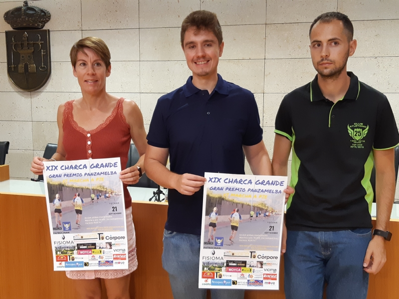 Vídeo. Las pruebas XIX Charca Grande-Gran Premio Panzamelba y la VI Marcha a Pie, que organizan el Club de Atletismo de Totana, se celebran el sábado 21 de septiembre sobre un circuito mixto