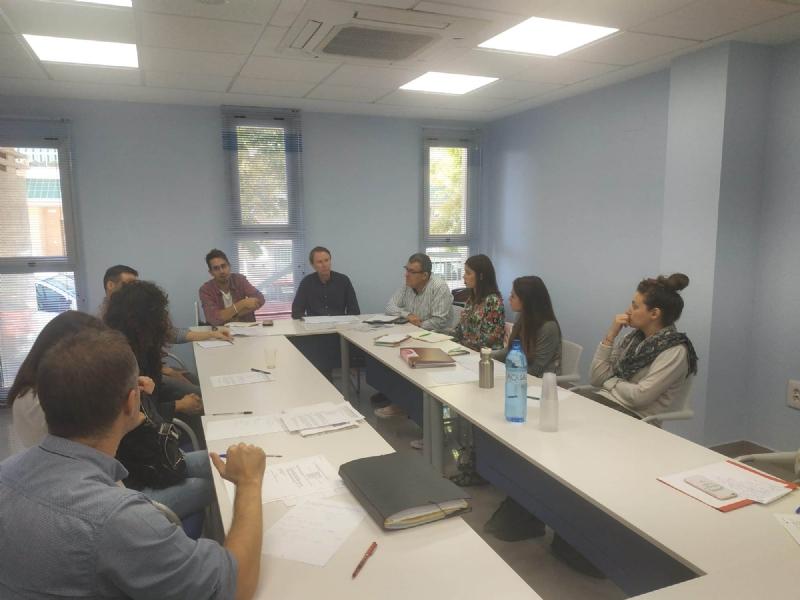Se celebra otra reunión de coordinación con entidades que gestionan las posibilidades de empleo con personas en situación de riesgo o exclusión social en Totana