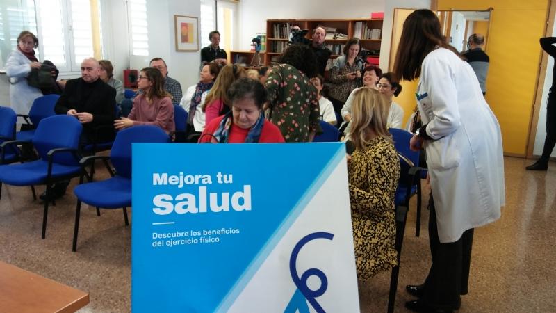 """Los dos centros de salud de Totana implantan el programa """"Activa"""" para la prescripción de ejercicio físico a pacientes, promovido por la Consejería de Salud, con la colaboración del Ayuntamiento"""