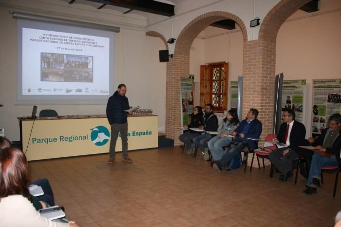 Se reúne el Foro de Seguimiento de la Carta Europea de Turismo Sostenible del Territorio Sierra Espuña, con la presencia de autoridades municipales de Totana