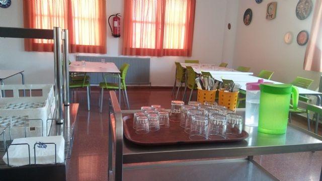Se suspende el contrato del servicio de catering y comedor en el Centro Municipal y los Centros de Día de Personas Mayores