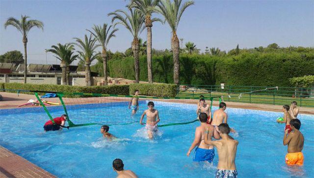 Las piscinas del Polideportivo Municipal
