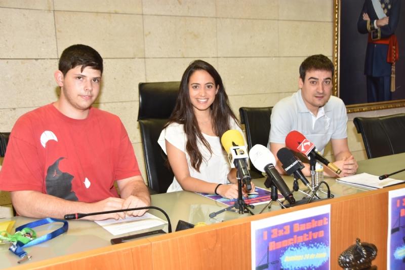 VÍDEO. El I Torneo 3x3 Básket se celebrará el próximo 24 de junio, organizado por la Federación Murciana de Asociaciones de Estudiantes  y el Club de Baloncesto Totana