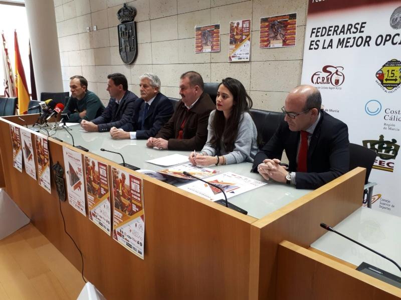 El 21 y 28 de enero se celebrarán las dos primeras pruebas ciclistas del calendario regional de MTB y BTT, teniendo como protagonista Sierra Espuña
