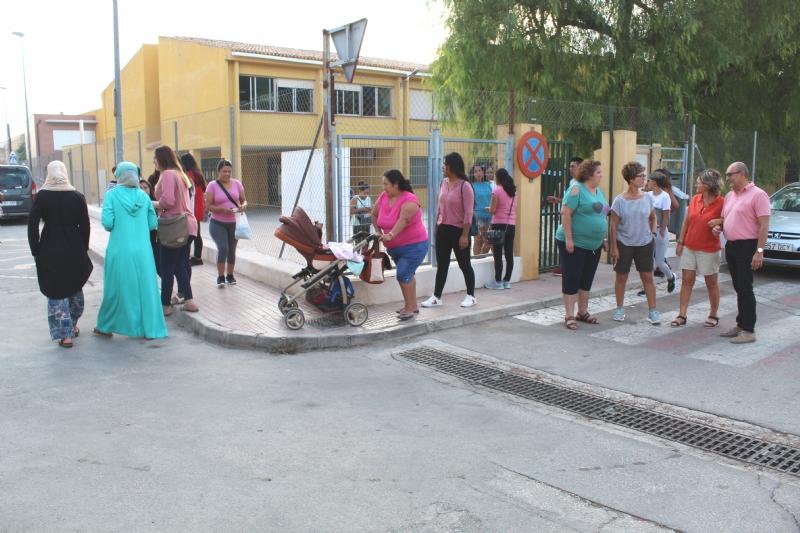 Un total de 3.592 alumnos de Educación Infantil y Primaria comienzan el curso escolar 2019/20 con normalidad en once colegios de Totana
