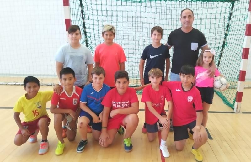 Comienza la Fase Local de Fútbol Sala de Deporte Escolar, organizada por la Concejalía de Deportes con la colaboración de los centros de enseñanza