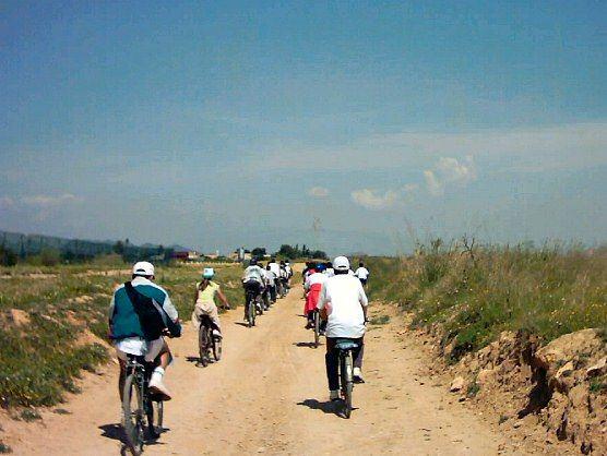 La nueva Vía Verde Cartagena-Totana contabiliza, sólo en el tramo del municipio totanero, más de 8.400 usuarios, entre senderistas y cicloturistas, desde su inauguración el pasado verano