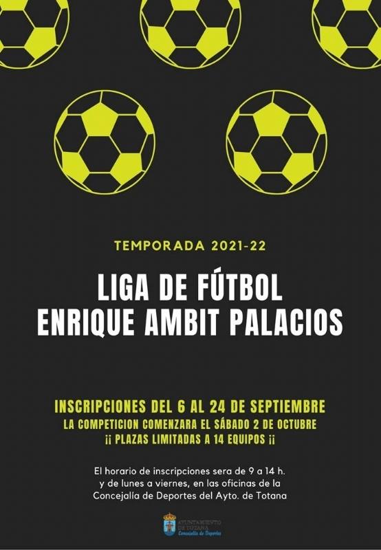 Vídeo. Abierta hasta el 24 de septiembre la inscripción en la Liga de Fútbol