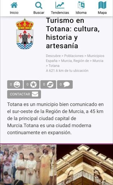 Vídeo. La Concejalía de Turismo presenta el nuevo dominio www.turismoentotana.com con el que se pretende ampliar la difusión y promoción de la oferta turística a través de Internet