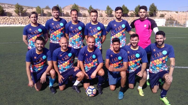 La Concejalía de Deportes ha puesto en marcha la Liga de Fútbol