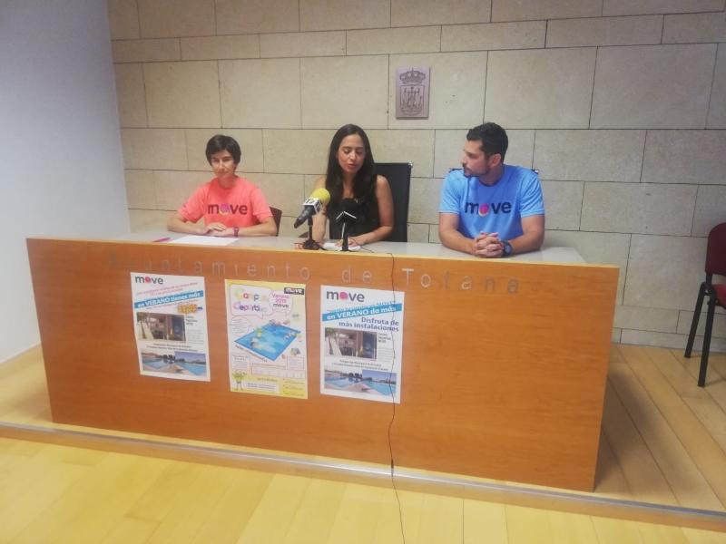 Vídeo. Se presenta el nuevo programa de actividades deportivas para este verano en el Centro Deportivo
