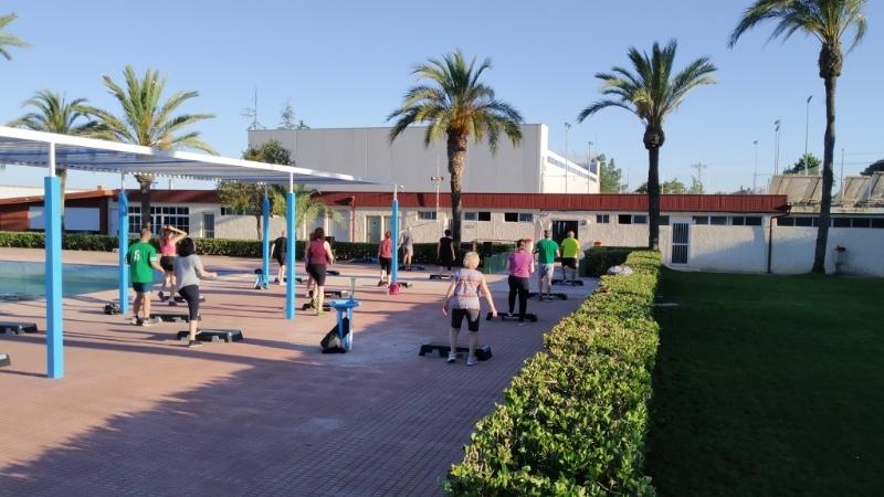 Comienzan las clases de Gimnasia de Mantenimiento en el Polideportivo Municipal