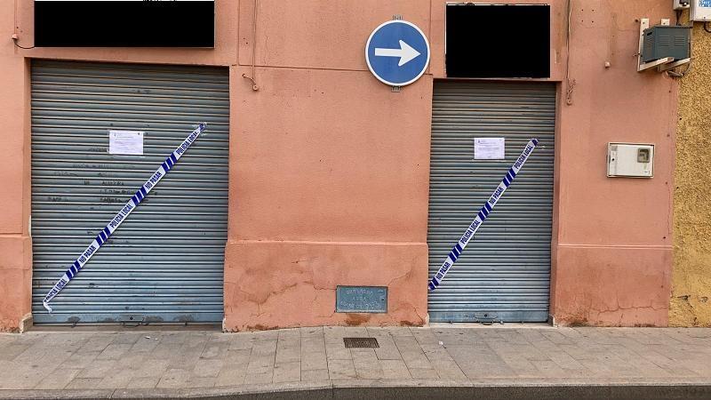 La Policía Local de Totana cesa la actividad y precinta dos establecimientos por incumplimientos de las medidas sanitarias contra el COVID -19