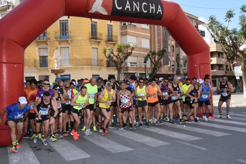 Vídeo. Raúl Guevara y Mar Martínez, del equipo Rajaos Runners de Alcantarilla, se proclaman vencedores de la XXIII Carrera Subida a La Santa; en la que participaron 198 atletas