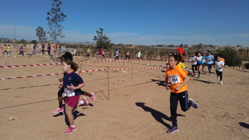 Un total de 22 escolares de Totana participaron en la Final Regional de Campo a Través benjamín y alevín de Deporte Escolar, celebrada en San Pedro del Pinatar