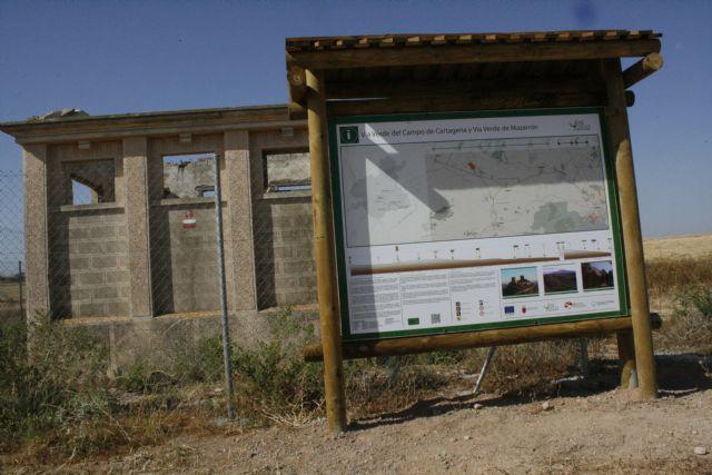 Vídeo. Ya está en servicio la Vía Verde Totana-Cartagena tras las obras de acondicionamiento del trazado ferroviario y su ramal La Pinilla-Mazarrón