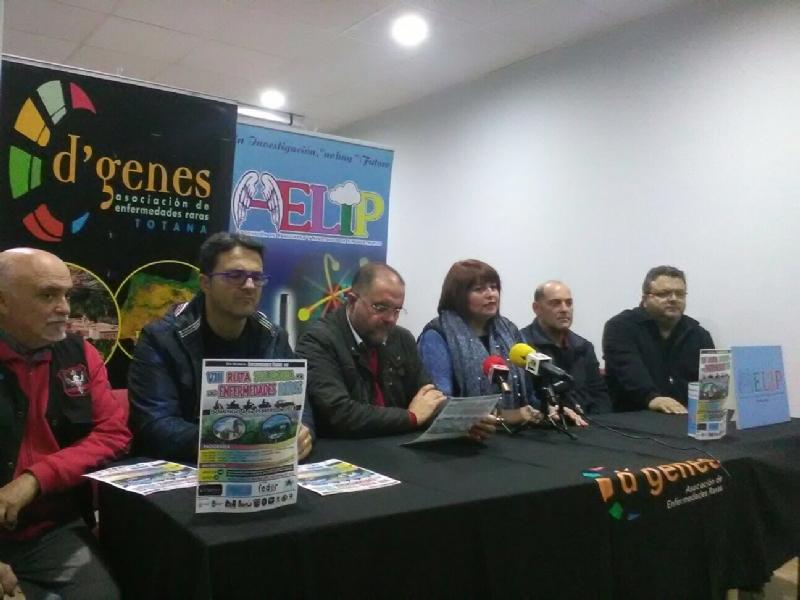 La VIII Ruta Solidaria entre Totana y María (Almería) abrirá el programa de actividades conmemorativas del Día Mundial de las Enfermedades Raras el próximo 4 de febrero