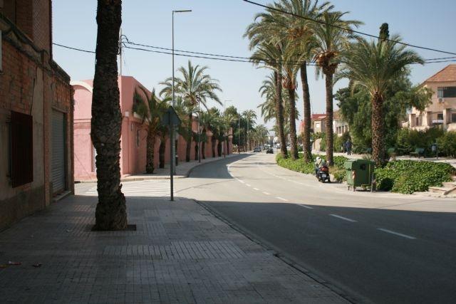 Inician el expediente para contratar la ejecución del itinerario urbano saludable en la avenida de Lorca para el ejercicio de la actividad