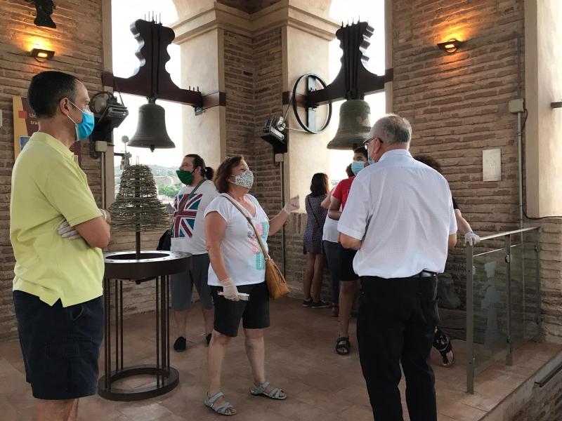 Se retoman, con gran éxito y después de cuatro meses, las visitas programadas al Museo de la Torre, organizadas por la Concejalía de Turismo