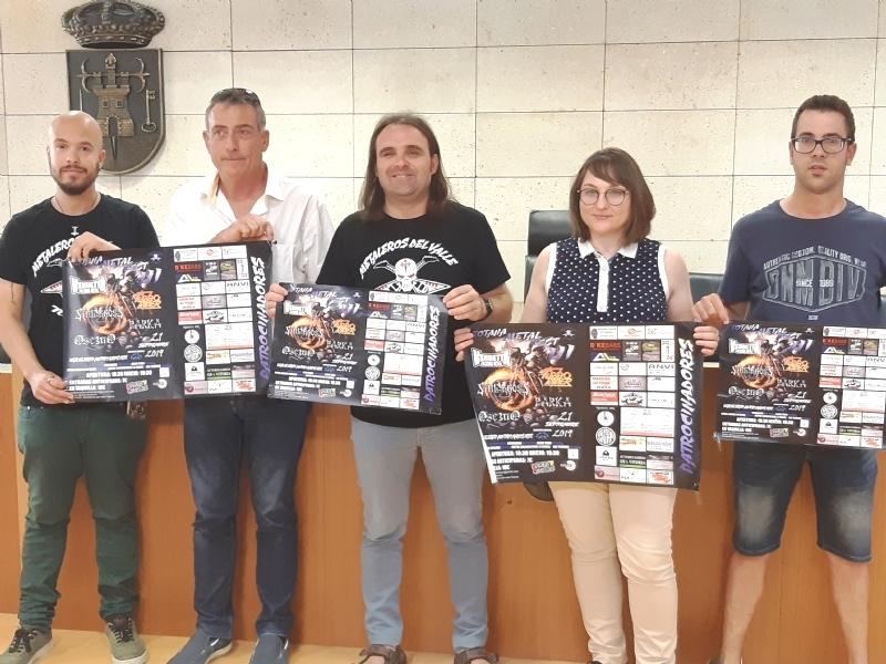 """Vídeo. El III Totana Metal Fest se celebra este sábado 21 de septiembre en el auditorio del parque municipal """"Marcos Ortiz"""", con la participación de cinco grupos, a beneficio de PADISITO"""