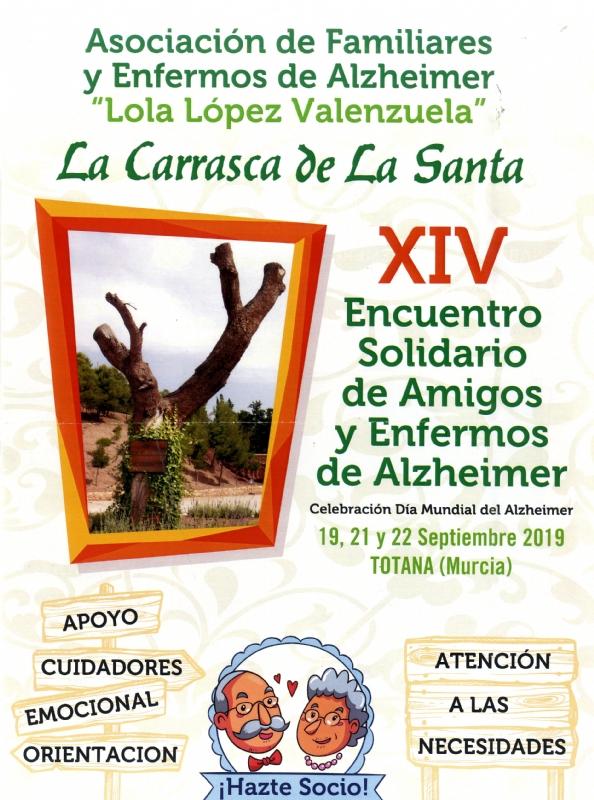 """La Asociación de Familiares y Enfermos de Alzheimer """"La Carrasca de La Santa"""" celebra esta semana las actividades conmemorativas por el Día Mundial de esta patología"""