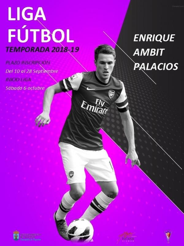 """Vídeo. La Liga de Fútbol """"Enrique Ambit Palacios"""" comenzará el sábado 6 de octubre y los equipos tiene de plazo para inscribirse en esta competición hasta el 28 de septiembre"""