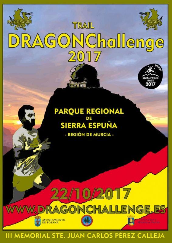 """Vídeo. La III Carrera de Montaña """"DRAGONChallenge"""" se celebra este próximo domingo, con dos pruebas de 17 y 32 kilómetros respectivamente, por los principales parajes de Sierra Espuña"""