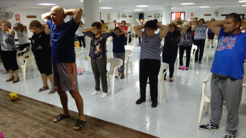 La Concejalía de Deportes ha puesto en marcha los programas de Gimnasia para Personas Mayores y Discapacitados, respectivamente