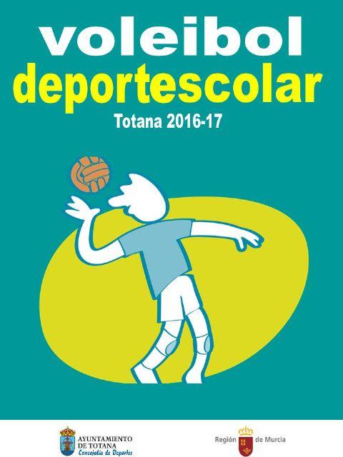 La Fase Local de Voleibol Alevín de Deporte Escolar, organizada por la Concejalía de Deportes, finaliza mañana con la entrega de trofeos