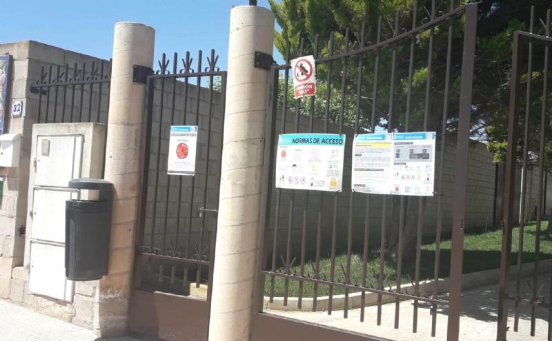 Este viernes 22 de mayo, con motivo de la festividad de Santa Rita, los servicios e instalaciones deportivas municipales permanecerán cerrados