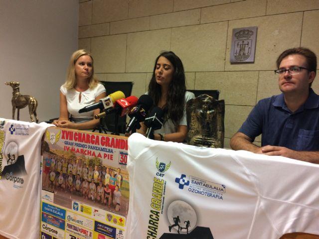 """Vídeo. La """"XVII Charca Grande-Gran Premio Panzamelba"""" se celebrará el próximo 30 de septiembre y contará con la IV """"Marcha a Pié"""", organizada por el Club de Atletismo de Totana"""