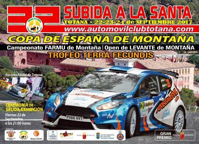 Vídeo. La 32� Subida a La Santa congregará a 65 pilotos durante este próximo fin de semana; y será un examen para que se vuelva a incluir en el Campeonato de España de Montaña del 2018