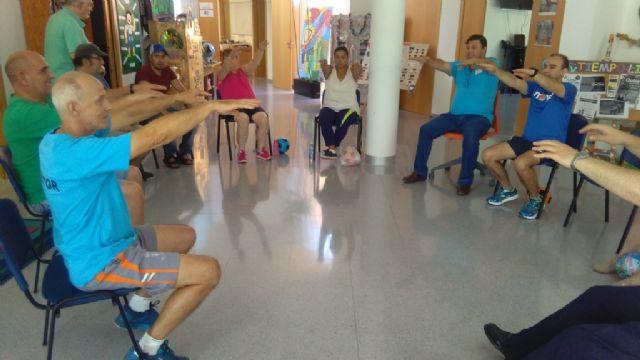 La Concejalía de Deportes pone en marcha un programa de Gimnasia para Discapacitados, en el Centro de Día para Personas con Enfermedad Mental