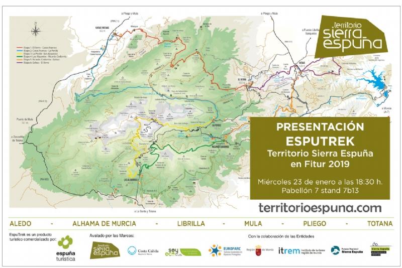 Totana presentará su oferta turística en Fitur a través de la Mancomunidad de Servicios Turísticos de Sierra Espuña, en colaboración con la Asociación de Empresarios Espuña Turística