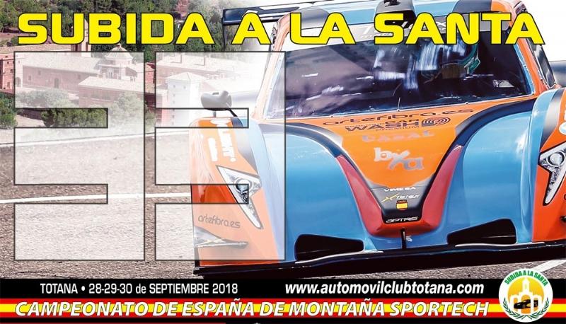 Vídeo. Más de 70 pilotos participan del 28 al 30 de septiembre en la 33° Subida a La Santa, séptima y última prueba automovilística puntuable para el Campeonato de España de Montaña