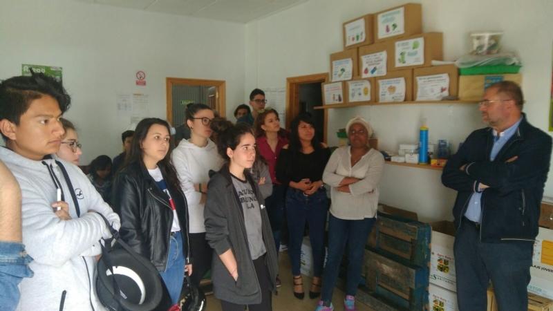 """Vídeo. Alumnos del IES """"Prado Mayor"""" participan en una Jornada de Emprendimiento en el Centro de Desarrollo Local y el Vivero de Empresas, organizada por la Concejalía de Desarrollo Económico"""