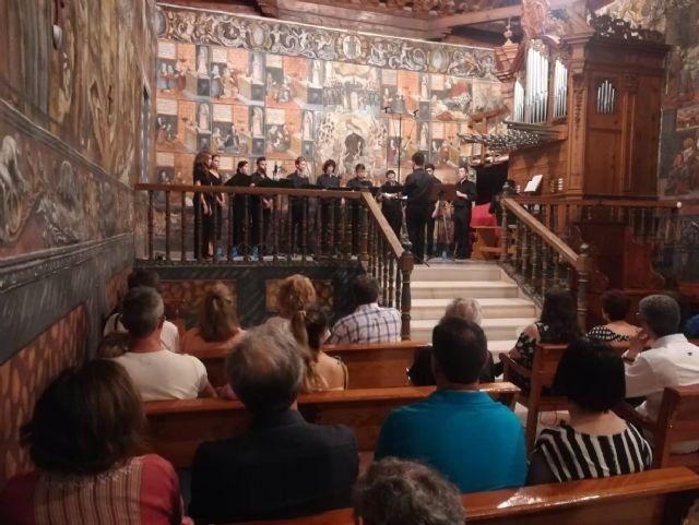 El ensemble ECOS de Sierra Espuña devuelve al Santuario de Santa Eulalia la música del siglo XVII