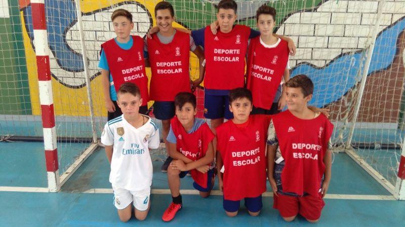 La Fase Local de Multideporte y Fútbol Sala de Deporte Escolar, organizada por la Concejalía de Deportes, cuenta este curso con la participación de 625 escolares de los diferentes centros de enseñanza