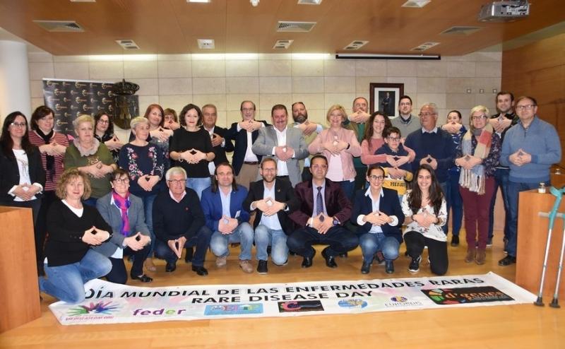 La Corporación municipal de Totana visibilizará, antes del pleno ordinario, su apoyo a la celebración del Día Mundial de las Enfermedades Raras