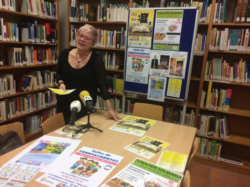 Vídeo. La Concejalía de Cultura organiza un amplio programa de actividades con motivo del Día del Libro, que se prolongará a lo largo de todo este mes de abril
