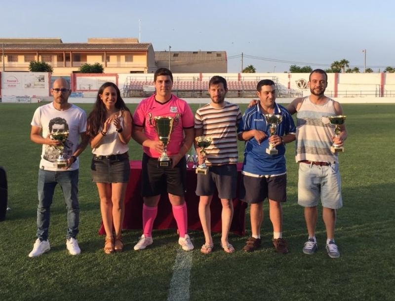 """El equipo """"Bar Ruta Restaurante 340"""" se proclama campeón de la Copa de Fútbol"""
