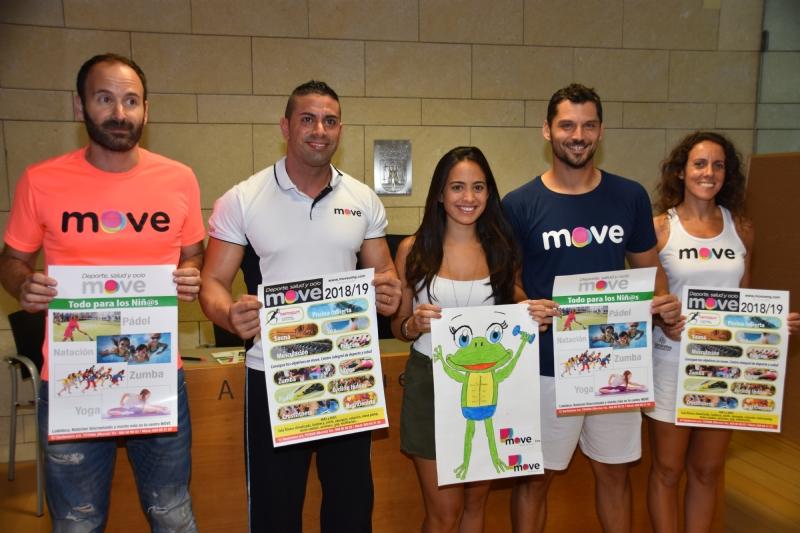 """Vídeo. Se presenta el programa de actividades y servicios novedosos del Centro de Deporte, Salud y Ocio """"MOVE"""" para la nueva temporada 2018/19"""