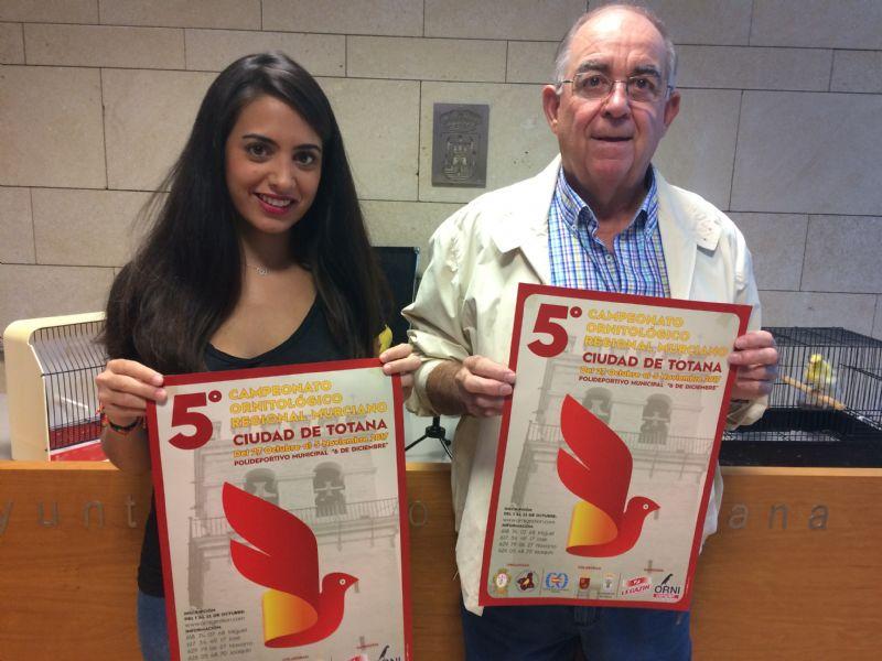 """Vídeo. Totana acoge 5° Campeonato Ornitológico Regional Murciano del 27 octubre al 5 de noviembre en el Pabellón del Polideportivo Municipal """"6 de Diciembre"""""""